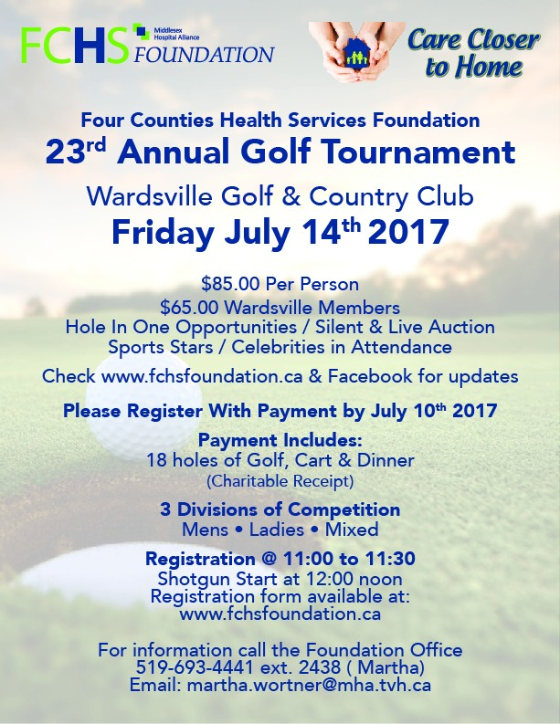 Click to download the poster for our 2017 Golf Tournament